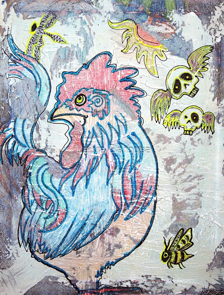 Rooster Road by Laura Barbosa