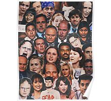 The Office Collage Posters by katieferret Redbubble