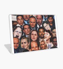 Die Büro-Collage Laptop Folie