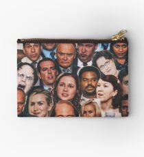 The Office Collage  Studio Pouch
