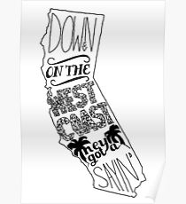Down On The West Coast... Poster
