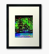 green dudes Framed Print
