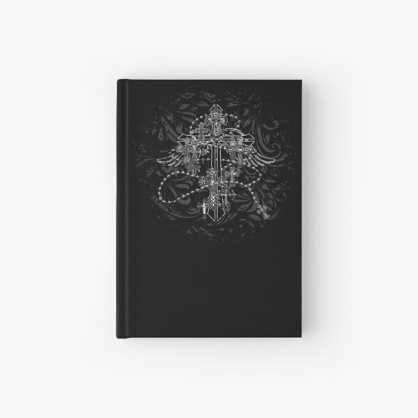 Cross collage Hardcover Journal