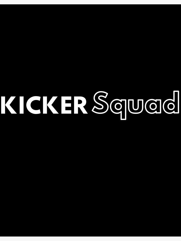 Field Goal Kicker Squad - Kickers Of Earth by kickersofearth