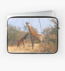 THE LATEST NEW COMMER!  The Giraffe baby ! Laptop Sleeve
