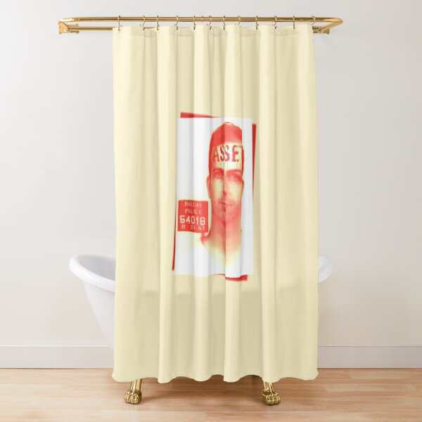 Lee Harvey Oswald Asset Shower Curtain