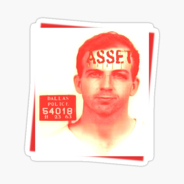 Lee Harvey Oswald Asset Sticker