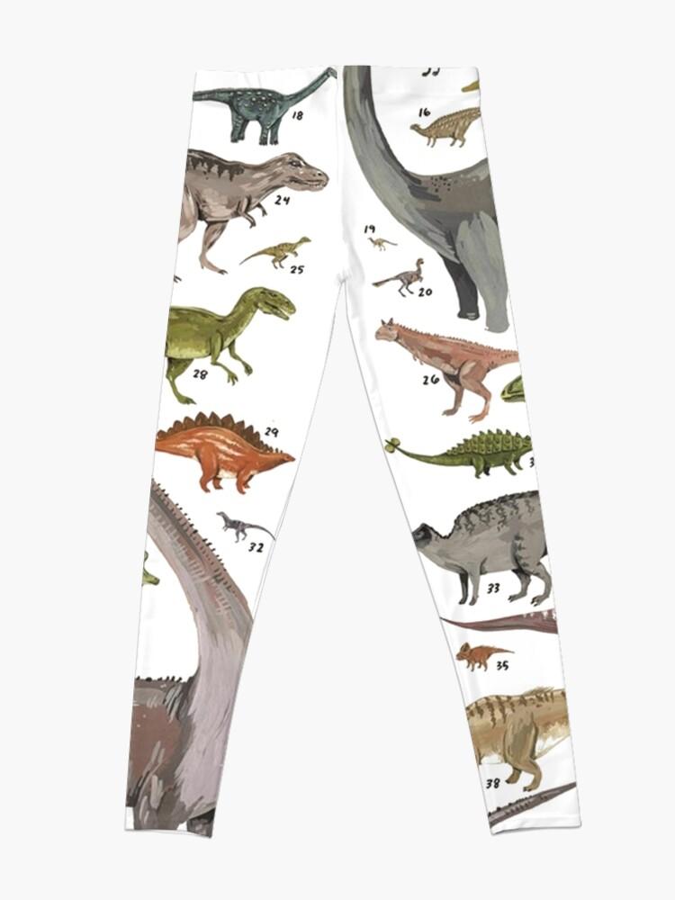 Alternate view of Dinosauria  Leggings