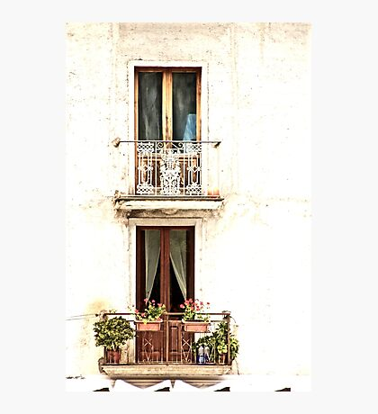 Windows of Maratea Photographic Print