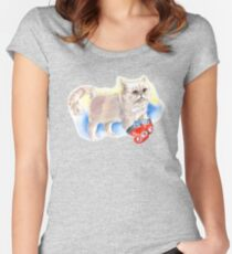 Panini Kitty Women's Fitted Scoop T-Shirt