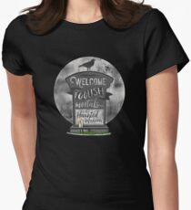 Haunted Mansion Women's Fitted T-Shirt
