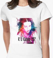 Miranda Sings #2 R U Kiddin Me?! Women's Fitted T-Shirt