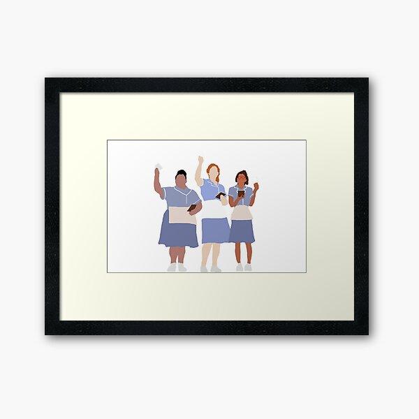 waitress musical Framed Art Print