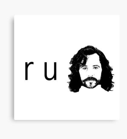 R U Sirius Canvas Print