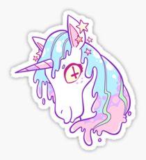 Sugar Drip Unicorn Sticker