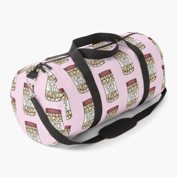 Cute Sesame Seeds  Duffle Bag