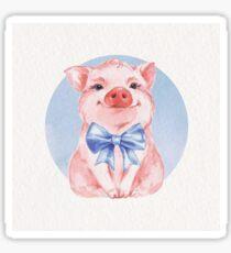 Happy Pig Sticker
