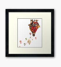 Brazilian Heart Framed Print