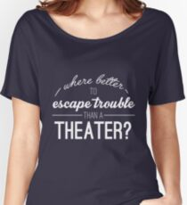 Escape Trouble Women's Relaxed Fit T-Shirt