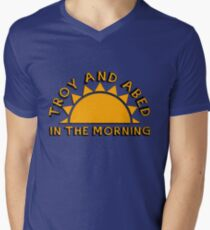 Community - Troy and Abed in the morning Men's V-Neck T-Shirt