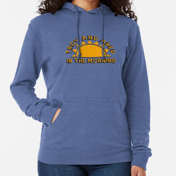Community - Troy and Abed in the morning Lightweight Hoodie
