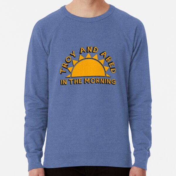 Community - Troy and Abed in the morning Lightweight Sweatshirt