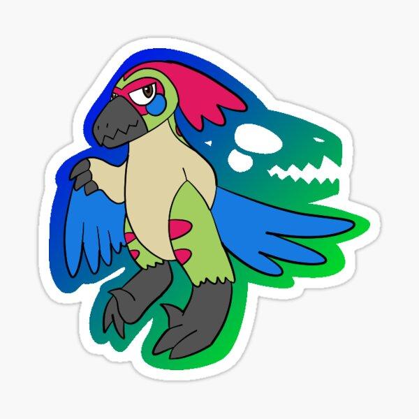 What a Weird Bird! Sticker