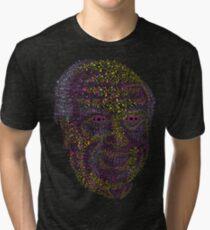 Albert Hofmann psychedelic portrait Tri-blend T-Shirt