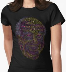 Albert Hofmann psychedelic portrait Womens Fitted T-Shirt