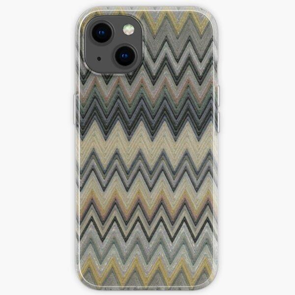 missoni home zig-zag chevron design  iPhone Soft Case
