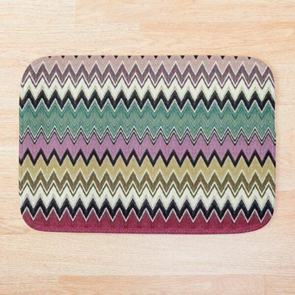 missoni home - colorful zig-zag chevron Bath Mat