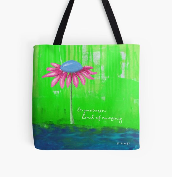 """""""Be Your Own Kind Of Amazing"""" Original design by PhillipaheART All Over Print Tote Bag"""