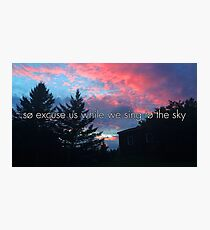 Sing to the Sky Photographic Print
