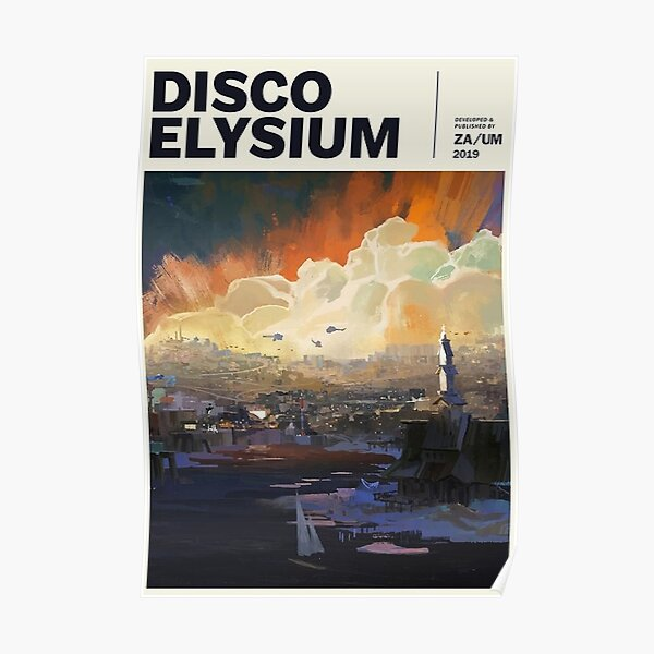 Disco Elysium Poster