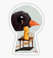 The Bird Thief Sticker