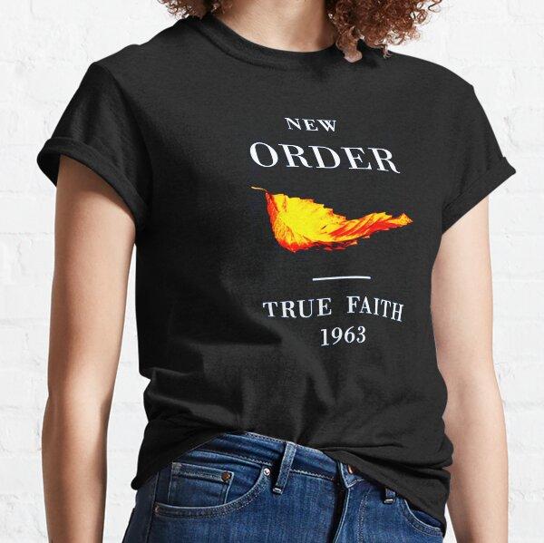 New Order True Faith Classic T-Shirt