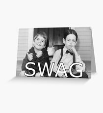 Little Rascals Swagger Greeting Card
