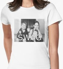 Little Rascals Swagger Womens Fitted T-Shirt