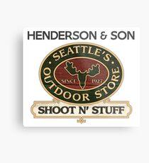 Seattle's Outdoor Store Metal Print
