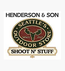 Seattle's Outdoor Store Photographic Print