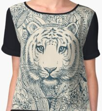 Tiger Tangle Chiffon Top