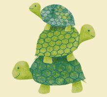 Turtle Stack | Organic Women's T-Shirt