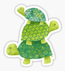 Turtle Stack Sticker