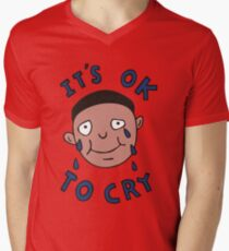 It's Ok to Cry Men's V-Neck T-Shirt