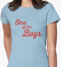 One of the Boys Ghostbusters Womens Fitted T-Shirt