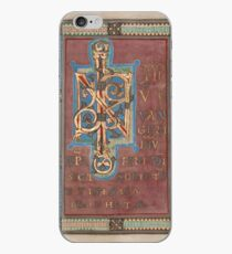 Decorated Incipit Page - Beginning of Mark's Gospel (1120 - 1140 AD) iPhone Case