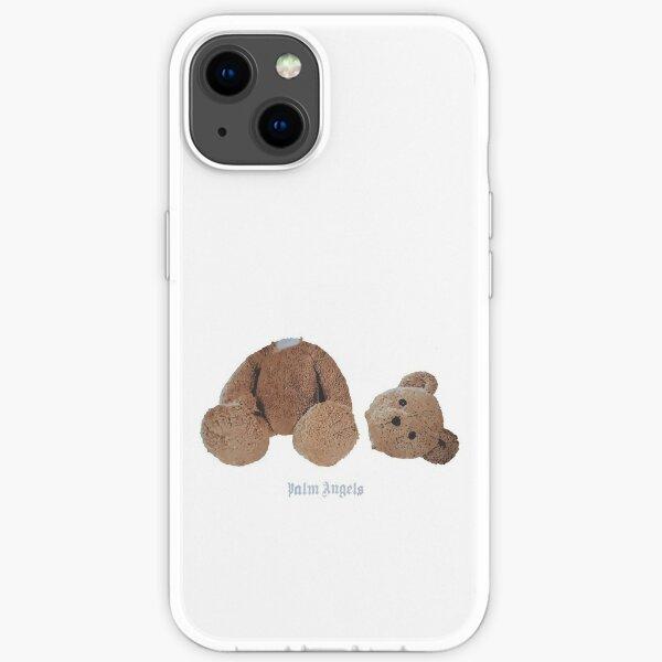 Super Cute Teddy bear Design iPhone Soft Case