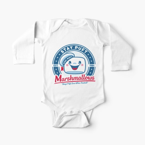 Marshmallows Long Sleeve Baby One-Piece