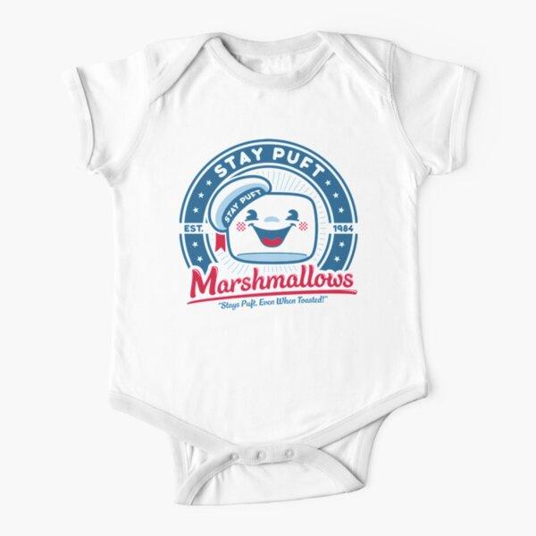 Marshmallows Short Sleeve Baby One-Piece