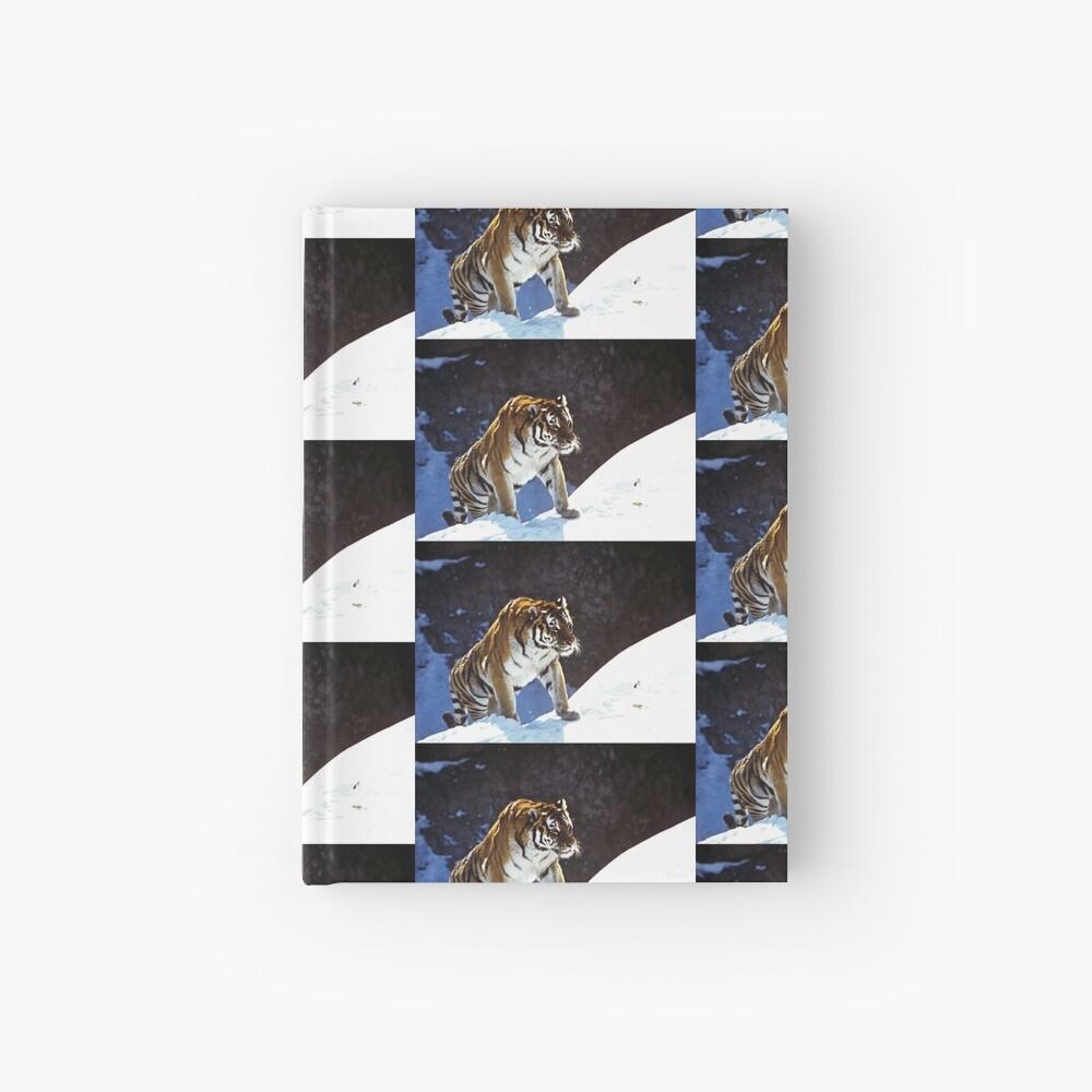Travelling Tiger Hardcover Journal